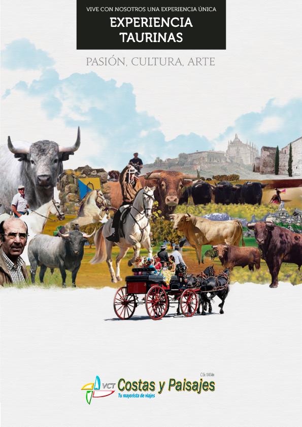 Experiencias Taurinas para amantes de los Toros, peñas y aficionados. Visita las míticas ganaderías de nuestro país como Victorino, Partido de Resina, Osborne...España y Portugal