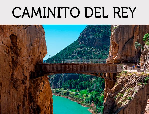 Caminito del Rey ofertas | Entradas+Hotel | Salida desde Extremadura