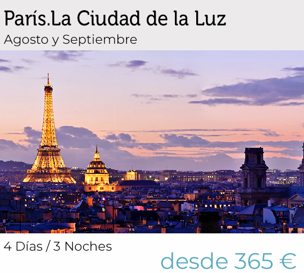 Circuitos por Paris | Salidas garantizadas