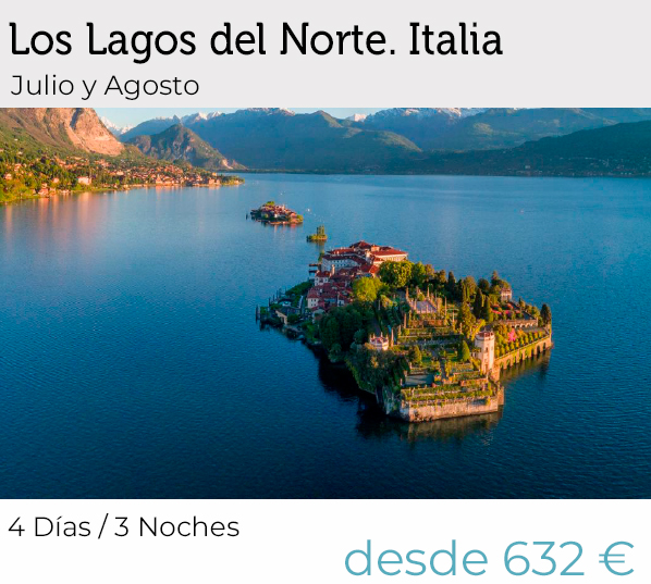 Circuitos por Lagos del norte Italia