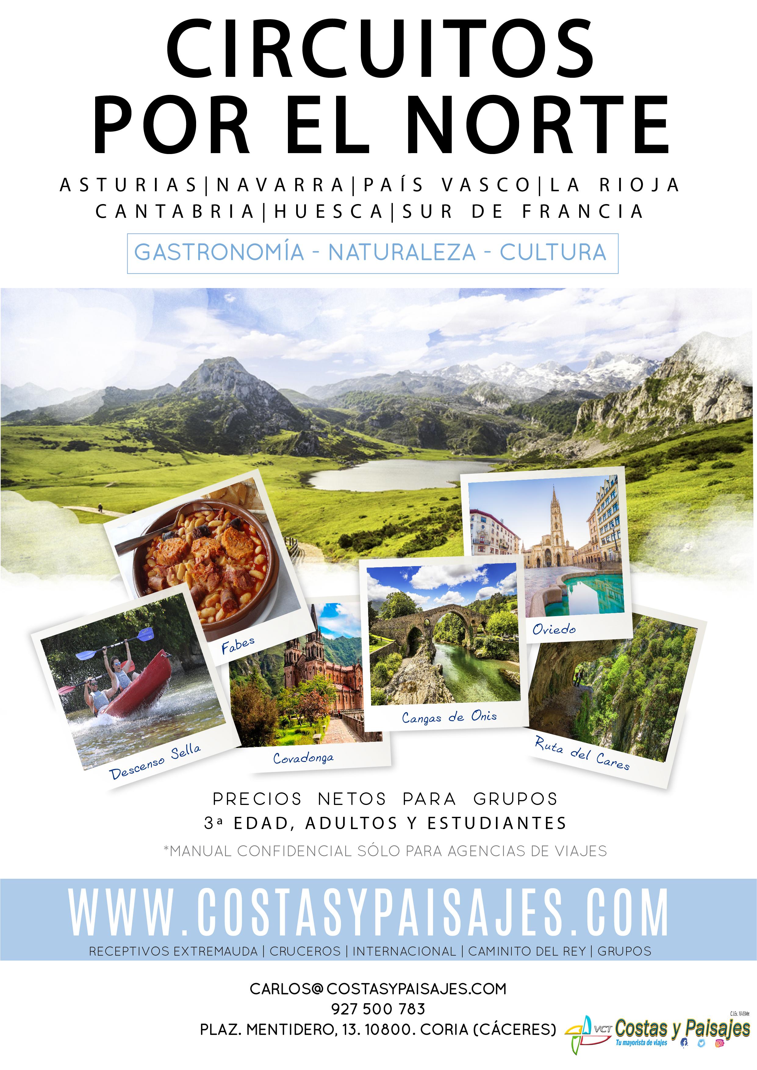 Portada catalogo norte de España